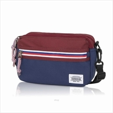 American Tourister Blake Utility Bag (Wine/Navy))