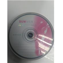 Summer 52X CD-R 700MB / 80Min (25 Pcs)