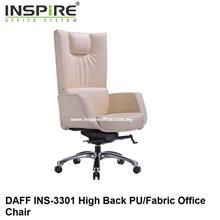 DAFF INS-3301  High Back PU/Fabric Office Chair