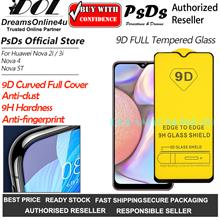 PsDs 9D Curve Tempered Glass Screen Protector HUAWEI Nova 2I 3I 4 5T