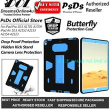 Butterfly Anti-Drop Military Protection Case iPad Air 10.5 Pro 10.5