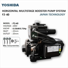 YOSHIDA F2-40 0.75HP / 0.55KW MULTI-STAGE HOME WATER PUMP BOOSTER PUMP
