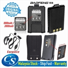 Original Baofeng Walkie Talkie Battery and Accessories