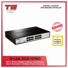 D-LINK DGS-1016D / 16-Port Gigabit Desktop/Rackmount Switch In Metal C