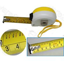 Measure Tape Metric & Easy Read Imperial Fractions Inch 7.5M (6840048e