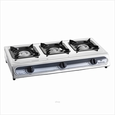 Butterfly Triple Gas Stove - BGC-3011L)