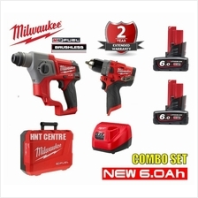 Milwaukee M12CH-602C 12V Cordless Sds Plus Rotary Hammer + M12FPD Cord