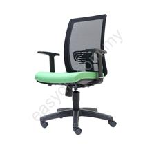 Office Mesh Chair | Web Mesh Medium Black Chair -E 2786H