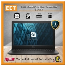 Dell Vostro 15 (3581) Business Class Laptop (i3-7020U 2.30Ghz,1TB,4GB,
