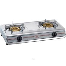 Butterfly Stainless Steel Double Gas Stove - BGC-933/305)