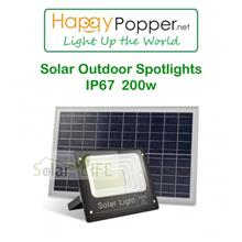 SOLAR OUTDOOR SPOTLIGHTS IP 67 200W