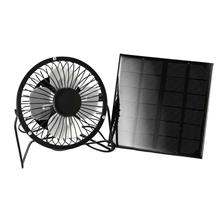 Outdoor Mobile Phone Powered Solar Panel Fan ()