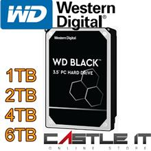 Western Digital Black 1TB 2TB 4TB SATA3 64MB Internal HDD