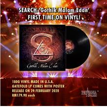 Search - Gothik Malam Edan Vinyl 180g LP Made In USA Limited Edition