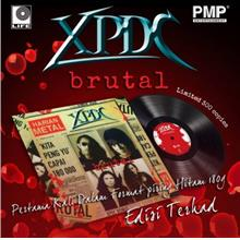 XPDC - Brutal Vinyl 180g LP Limited Edition