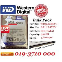 WD Scorpio Blue WD3200BEVE 320GB PATA IDE 2.5' Internal Hard Disk