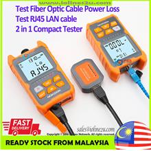NOKOXIN Fiber Optic Power Meter loss test LAN cable tester 850nm/1300nm/1310nm