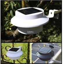 Solar Powered 3 LED Light (White Shell and Black Shell available)
