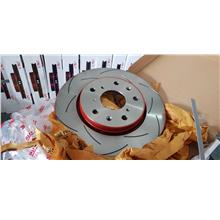 MITSUBISHI ASX TRW XPS SLOTTED DISC FRONT PER PAIR