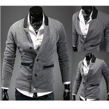 SALE~D.HOMME KOREAN STYLISH CHARACTER BUTTONED BLAZER-CARDIGAN