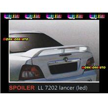 LL7202 Proton Waja Fiber Spoiler with Led (Lancer)