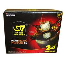 Vietnam Instant Coffee 2 in 1 Trung Nguyen G7–Boxes 15 Sachets 16g