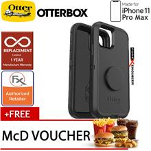 Otterbox OTTER + POP Defender for iPhone 11 Pro Max ( Black )