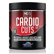 NDS Nutrition Cardio Cuts 3.0 Pre Workout Supplement - Advanced Weight Loss an