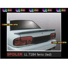 LL7184 Proton Wira Saloon Fiber Spoiler with Led (Ferio)