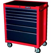 YAMOTO YMT594-0580K 7 DRAWER ROLLER CABINET - RED