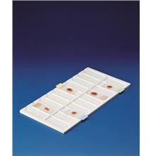PVC tray for 20 slides (76 x 26 mm)
