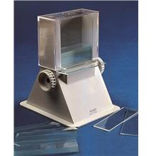Slide dispenser for 50 slides (76 x 26 mm)