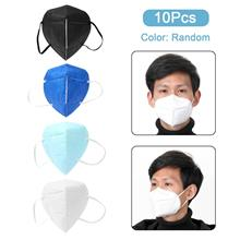10Pcs/Set Disposable Face Mask KN95 Anti PM2.5 95% Filtration Non-woven Fabric