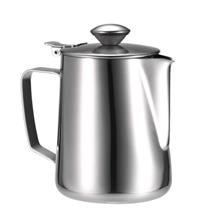 Stainless Steel Milk Frothing Pitcher Milk Foam Container Milk Cup Espresso Me