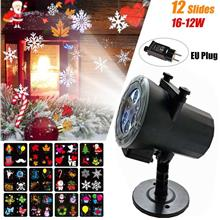 Christmas Projector Light with 12 Slides Dynamic Moving Image Led Projection L