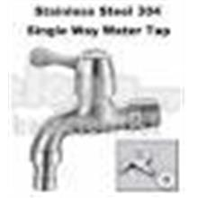 Wall Mounted Brass Single Way Water Tap Faucet Utility Laundry
