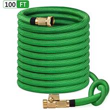 SunGreen 100ft Garden Hose, All New 2019 Expandable Water Hose with 3/4 ""