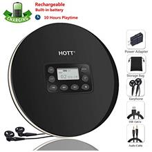 Rechargeable Portable CD Player, CCHKFEI Personal Compact Disc Player with LCD