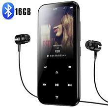 16GB MP3 Player with Bluetooth 4.2, Portable HiFi Lossless Sound MP3 Music Pla