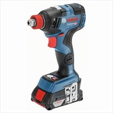 Bosch GDX 18V-200C Cordless Brushless Impact Driver/Wrench Kit (with 2 Batteri
