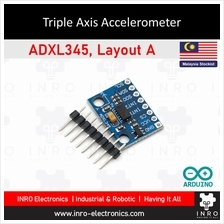 ADXL345, Arduino Triple Axis Accelerometer Breakout