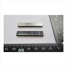 16P single-row straight pin socket base for 1602 LCD screen (2/Pack)