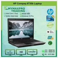 HP Compaq 6730b Core 2 Duo T7250 2GB DDR2 RAM 80GB HDD
