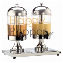 STAINLESS STEEL JUICE DISPENSER (DOUBLE)