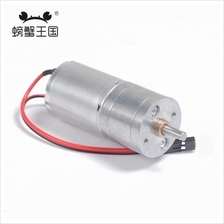 Geared Motor 370 with Reduction Gearbox for DIY