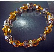 Elastic Stretch Swarovski Crystal Bracelet Choose Cols