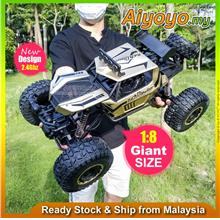 1/8 RC Car Remote Control Car Monster Truck 2.4GHz 4WD Rechargeable Off-Road T