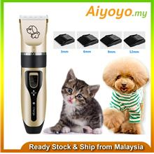 Electric Grooming Kit Animal Pet Cat Dog Hair Cut Trimmer Clipper Shaver Set K