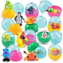 JOYIN 12 Pieces Easter Eggs Prefilled with Assorted Wind-up Toys Easter Basket