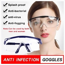 4GL BLUE FRAME Medical Eye Goggles Safety Protective Glasses Windproof